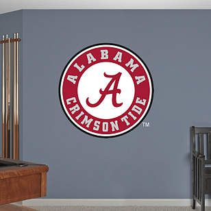 Alabama Crimson Tide Circle Logo